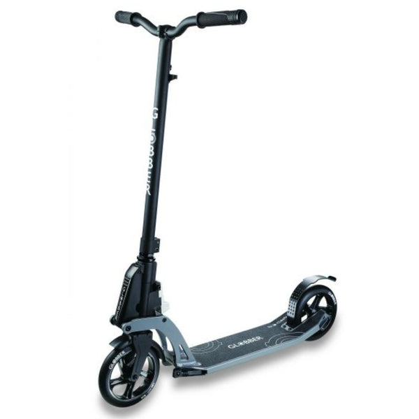Globber K180 adult scooter black no hand brake