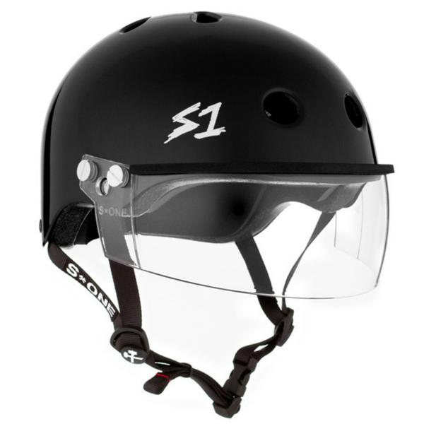 S-ONE Lifer Visor Helmet Gloss Black