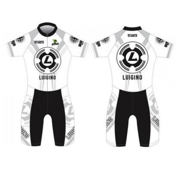 LUIGINO Skinsuit White/Grey