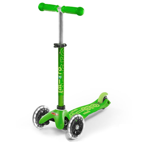 Micro-Mini-Deluxe-LED-scooter-green