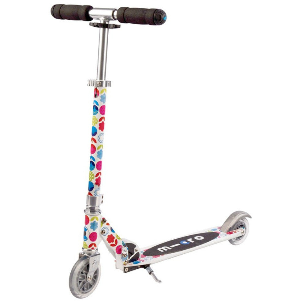 micro sprite floral scooter  u2013 bayside blades
