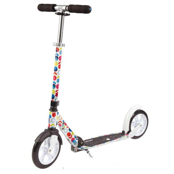 MICRO-White-Floral-Scooter