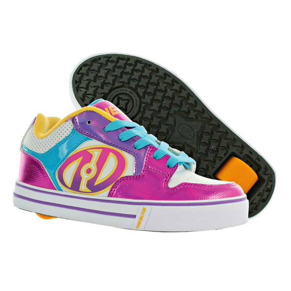 Heelys Motion Plus Metallic Pink roller shoe