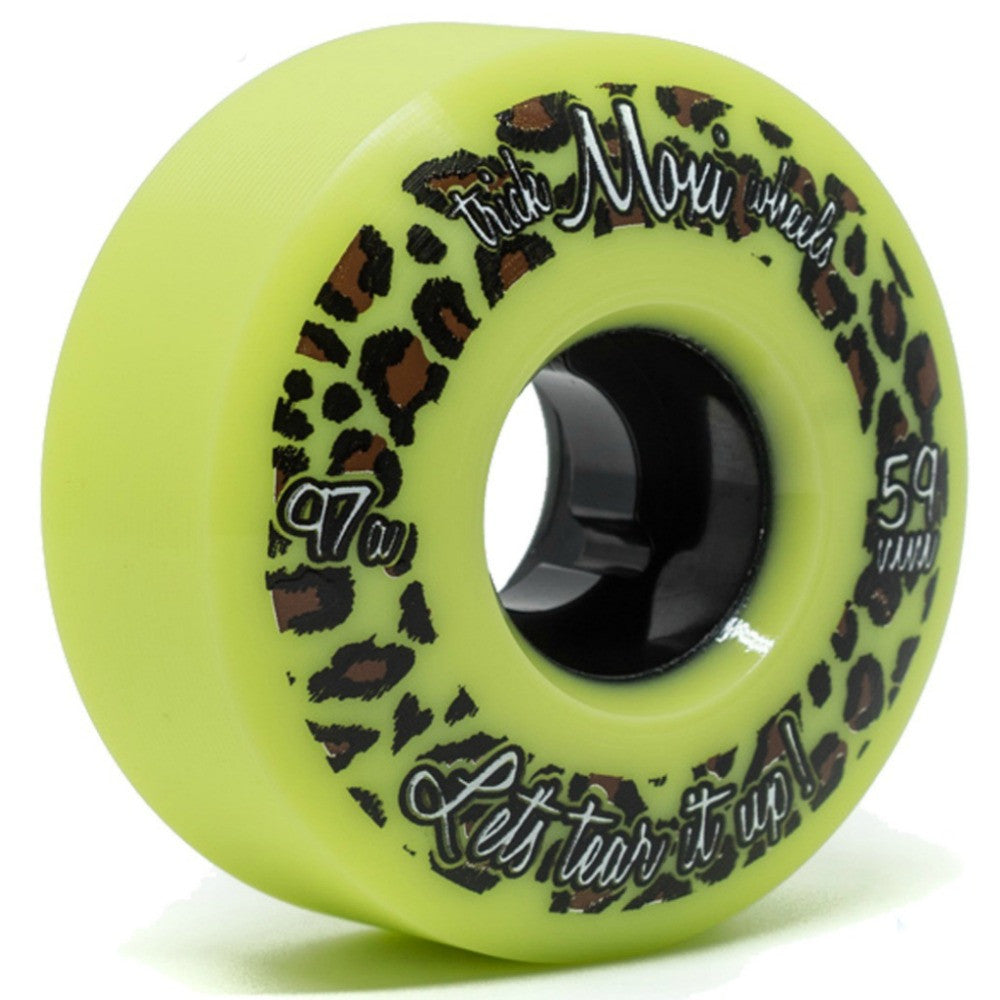 MOXI Trick Wheels Green 4pack
