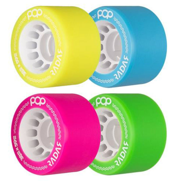 RADAR Pop Wheels 4pack