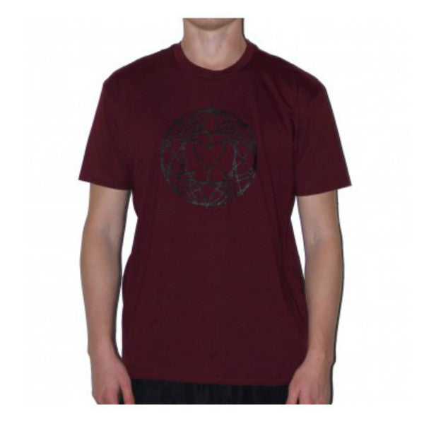 BHC-Stain-Glass-Tee, Maroon