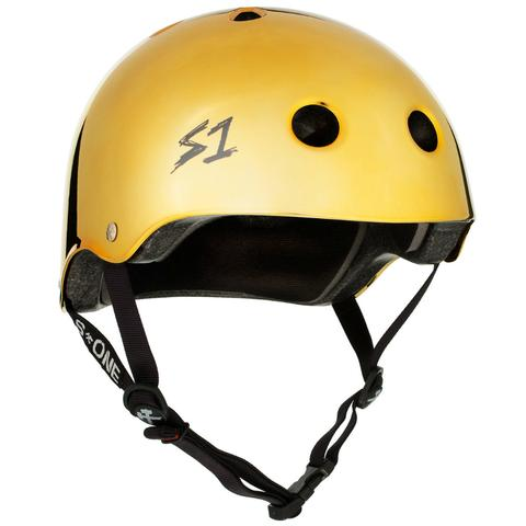 S-ONE Lifer Helmet Gold Mirror