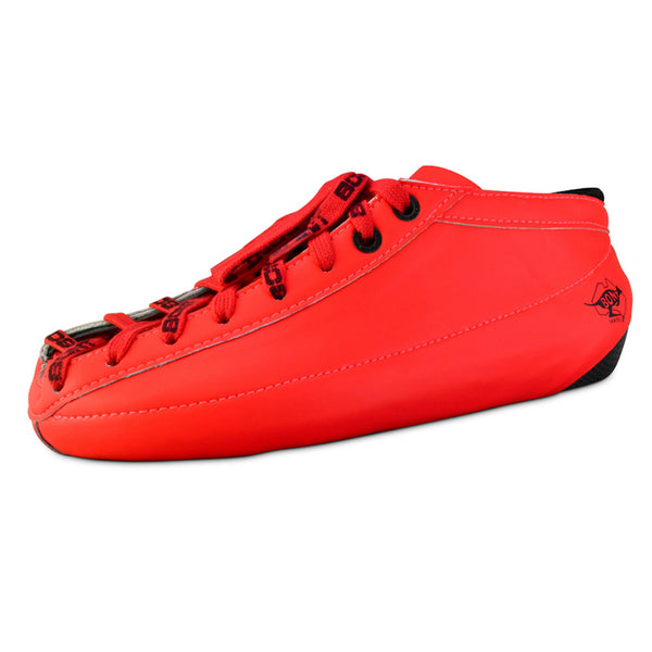 BONT Quad Racer Carbon Custom Boot - All Red