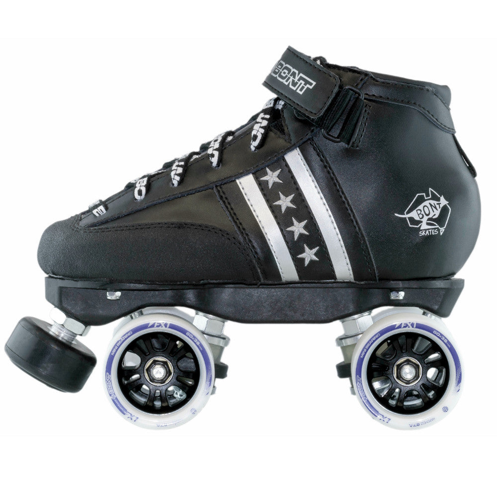 BONT Quad Star FX1 Rollerskate Package - Side on