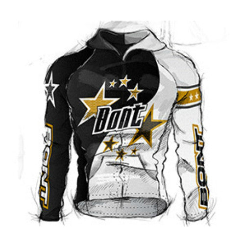 BONT Race Star Jacket Gold