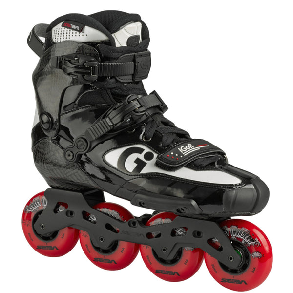 SEBA Igor 10 Skate Red Street Invader Wheels