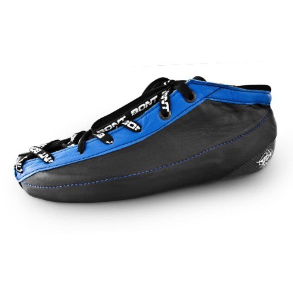 BONT Quad Racer Carbon Black Boot with Blue Trim