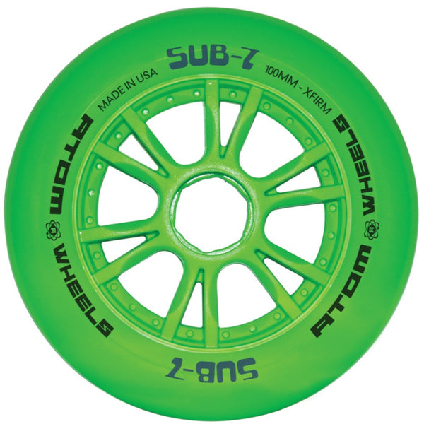 ATOM SUB7 IQ 100mm, Green, XFirm