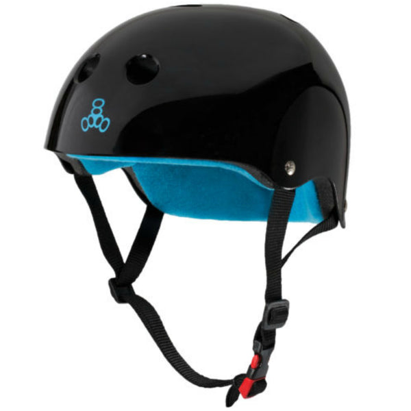 Triple 8 The Certified Sweatsaver helmet black/blue