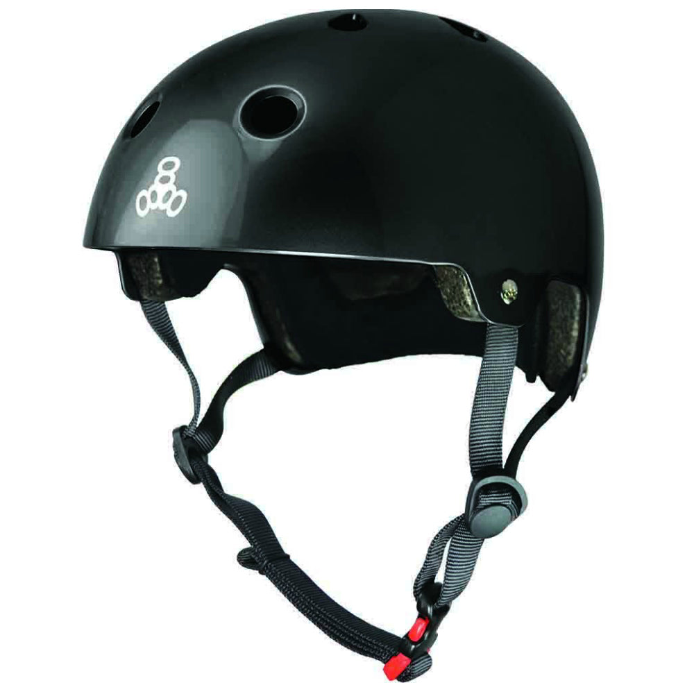TRIPLE 8 SS Brainsaver BIKE Helmet Gloss
