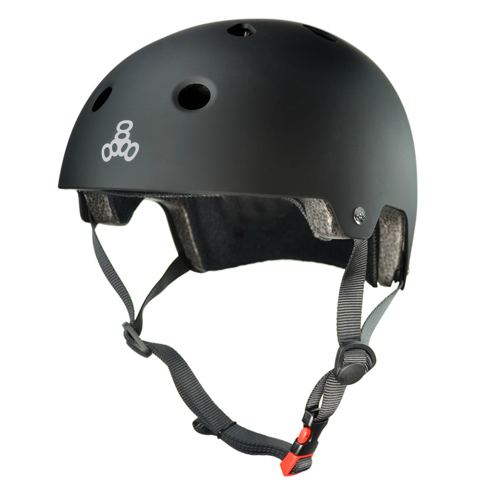 TRIPLE 8 SS Brainsaver BIKE Helmet Rubber
