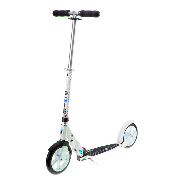 MICRO-White-Scooter