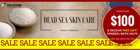 SALE! Vitalite Dead Sea Skin Care range