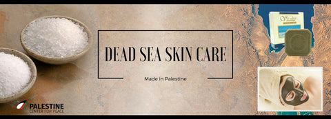 Dead Sea Skin Care, Made in Palestine