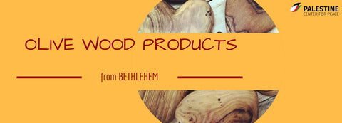 Olive Wood from Bethlehem