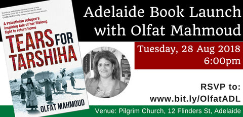 Adelaide book launch 28 Aug 2018