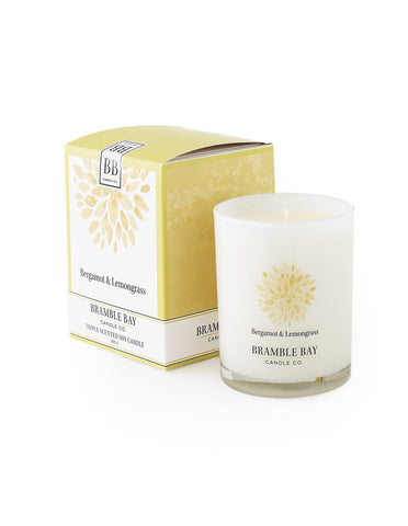 Soy Wax Candle 250g - Bergamot & Lemongrass