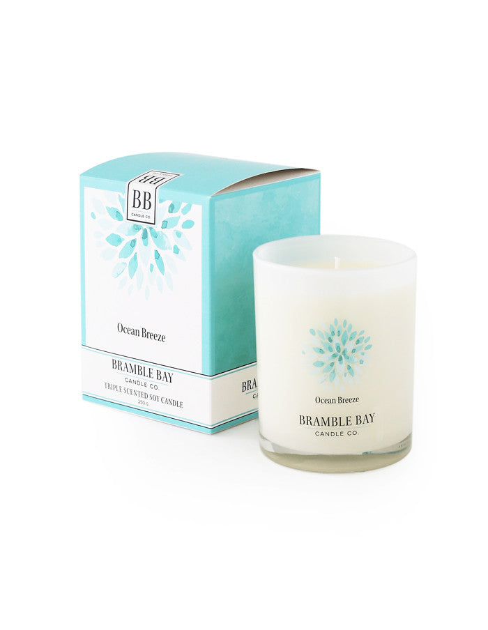 Soy Wax Candle 250g - Ocean Breeze
