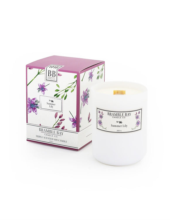 Soy Wax Candle 250g - Summer Lily