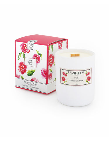 Soy Wax Candle 500g - Moroccan Rose