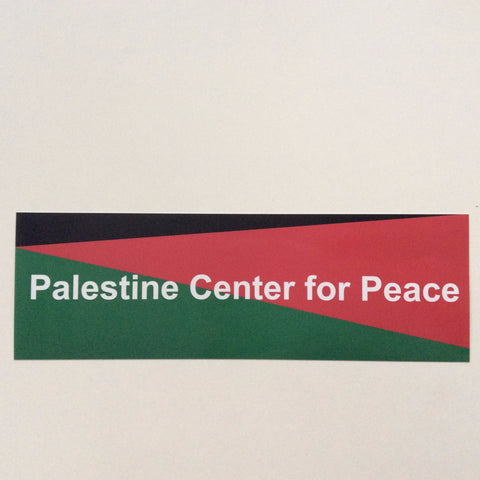 Sticker Palestine Center for Peace