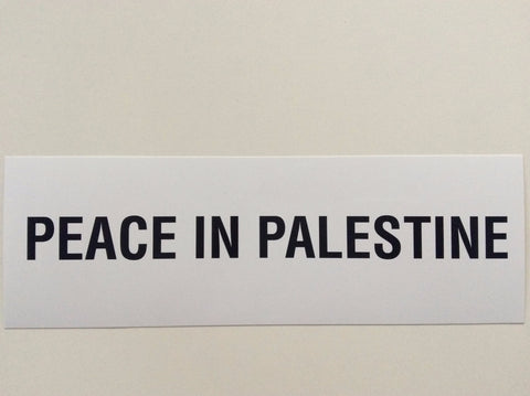 Sticker Peace in Palestine