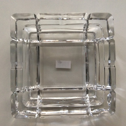 Ashtray Glass Square 18cm Esta