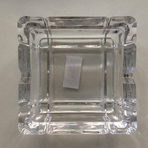 Ashtray Glass Square 9cm