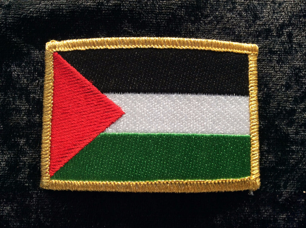 Palestinian Flag Fabric Iron On