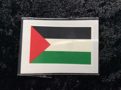 Temporary Tattoo Palestine Flag