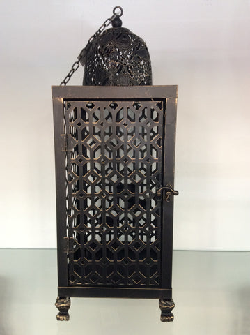 Bronze Table Lantern