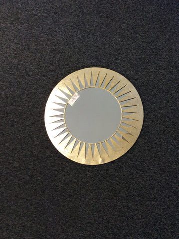 Mirror Round Gold Decor