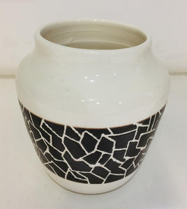 Ceramic Vase - Mosaic Design
