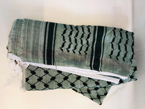 Keffiyeh - Washed Green