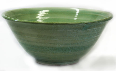 Antique Green Fruit Bowl (medium)
