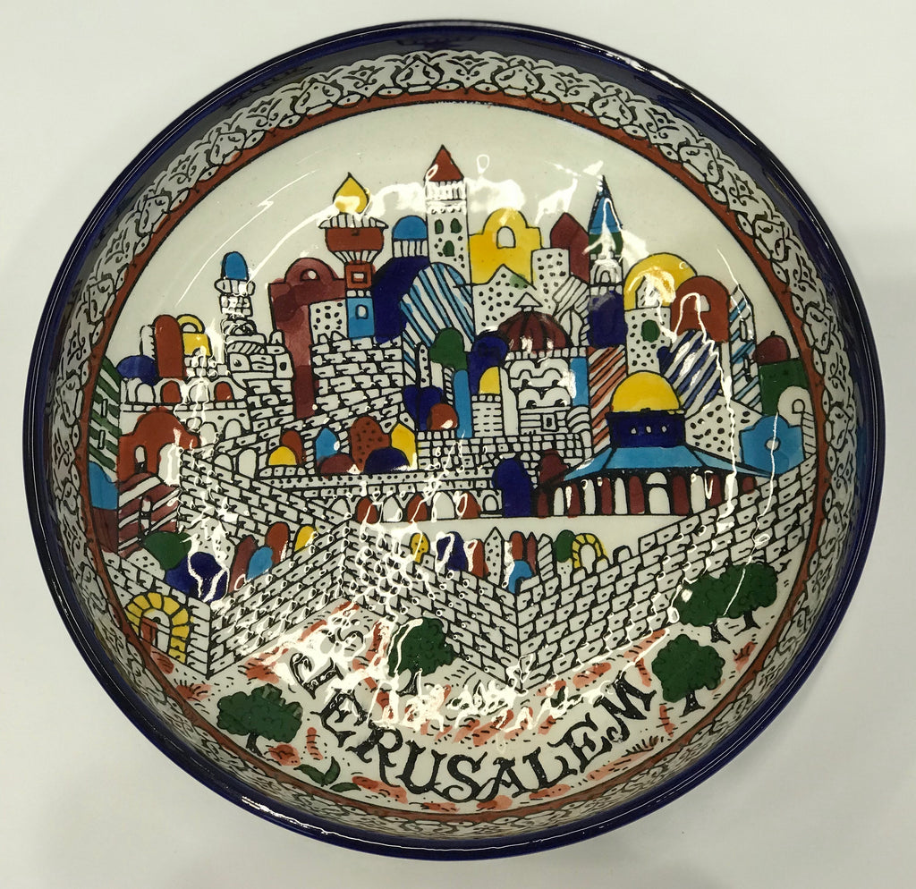 Large Jerusalem Bowl
