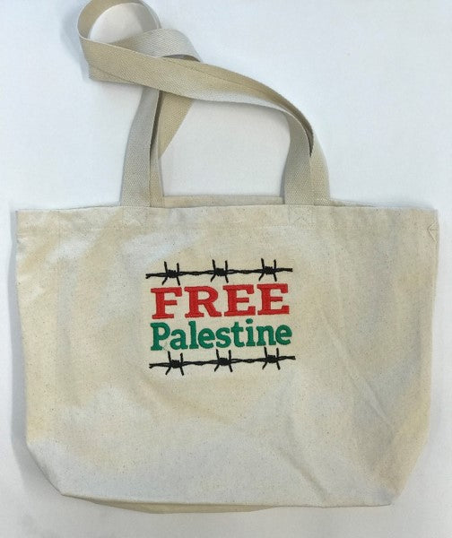 Calico Carry Bag 'Free Palestine'