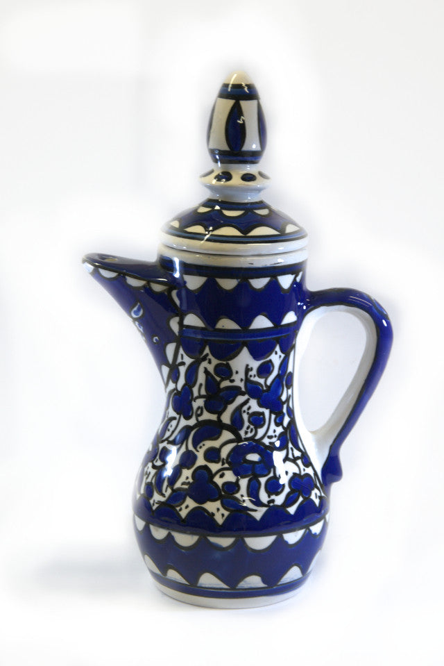 Ceramic coffee pot
