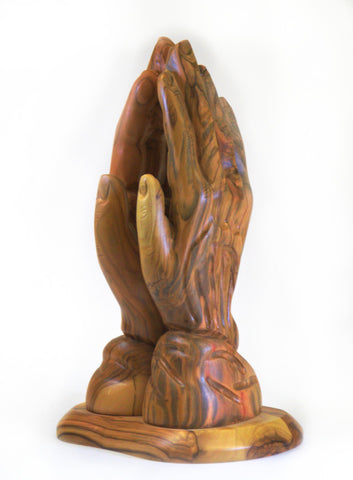 Olive Wood Praying Hands (extra large)