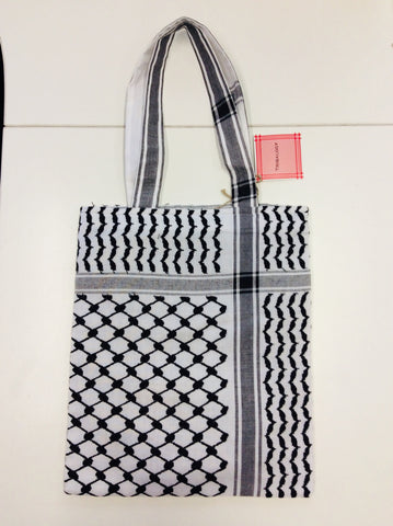 Tote Bag - Keffiyeh Design