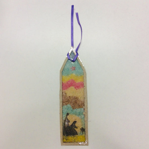 Bookmark (Coloured Sand Design)