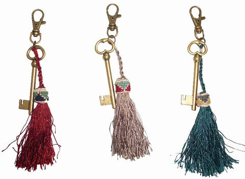 Keyring - Tassle and Key