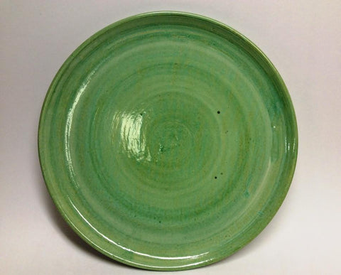 Antique Green Plate (large)