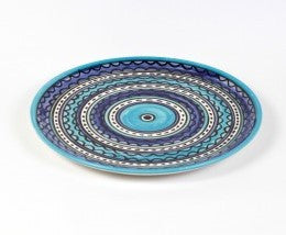Flat Plate (large) - Light & Dark Blue