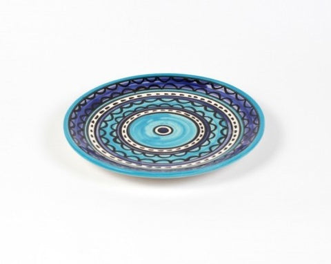 Flat Plate (small) - Light & Dark Blue